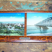 SALE Framed Images with  M.O.P. Accents Souvenir of Montreal