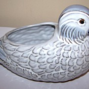 Beautiful Ceramic Japan Mandarin Hen Duck Figural Planter