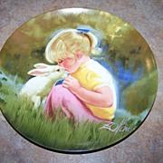 "Collector Plate ""Tender Moment"" Pemberton Oakes 1984 Donald Zolan"