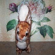 Vintage Steiff Ossi Stuffed Bunny Rabbit Toy