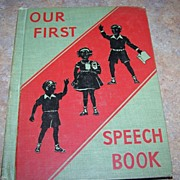 Our First Speech Book Newson Language Arts Series C. 1942 School Text