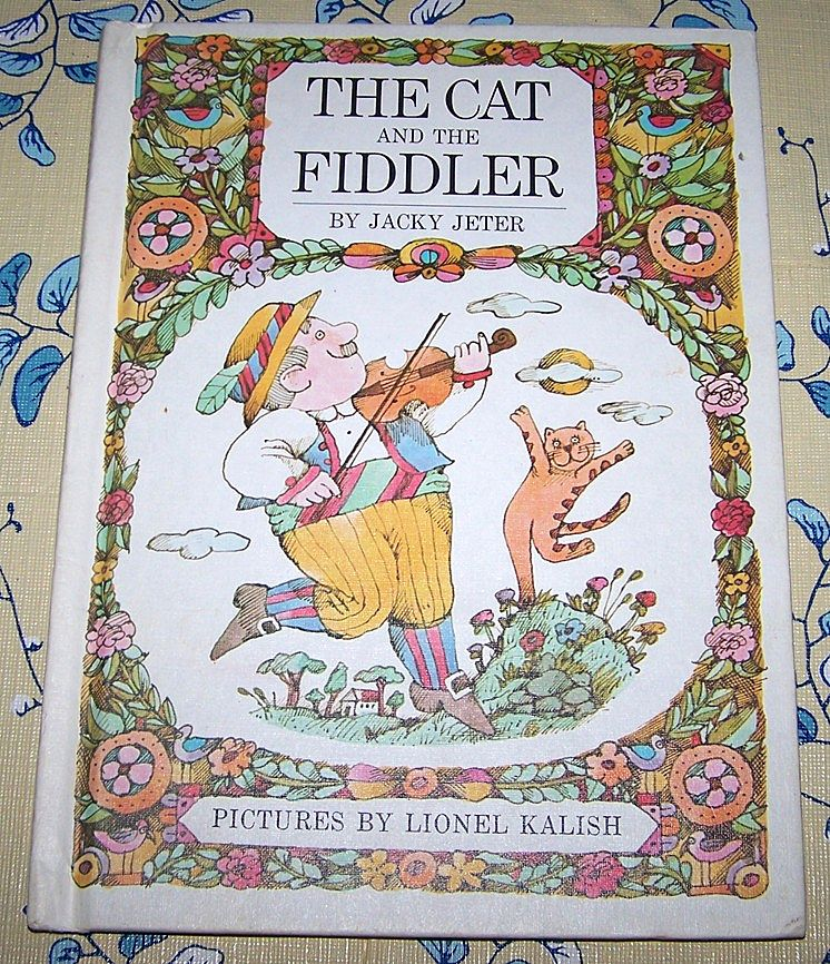 "H.C. Book "" The Cat and the FIddler "" by Jacky Jeter"