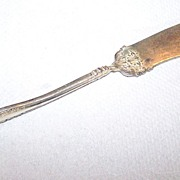 Silverplate Master Butter Knife 1847  Rogers Bros Triple Plate