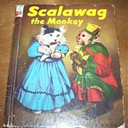 Rand McNally Elf Book Scalawag the Monkey  by Ruth Dixon