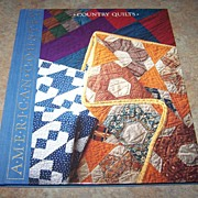 H.C. Book Country Quilts American Country