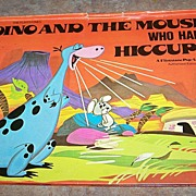 C.1974 Pop-up Book Dino And The Mouse Who Had Hiccups