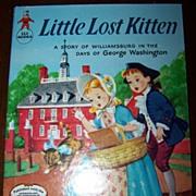 Little Lost Kitten Children's Book C. MCMLVI