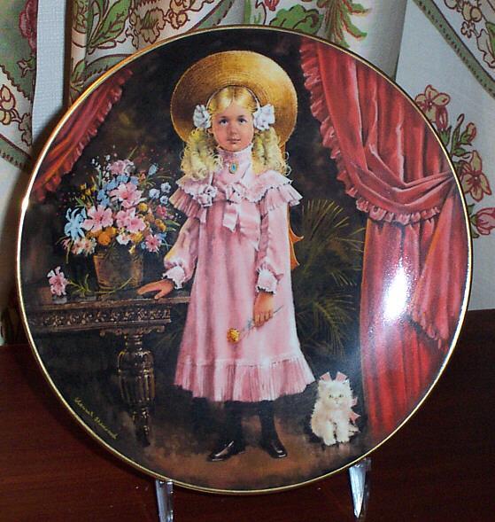 Victoria by Stewart Sherwood First Issue in the Stewart's Children Collector Plate