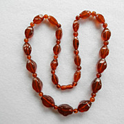 "Stunning Russian Amber 28"" Necklace"