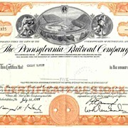 SOLD MONOPOLY Game Railroad Stock Certificates