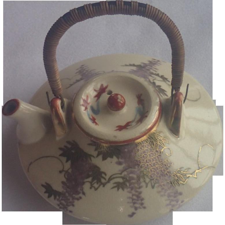 Vintage Japanese Teapot 2