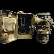 Rare WWII Japanese Army Engineers Surveyors Transit or Theodolite