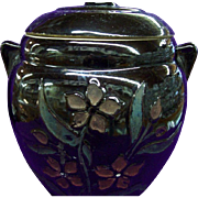 McCoy Floral Stoneware Cookie Jar