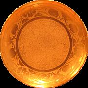 Haviland Limoges Art Nouveau Gilded Plate