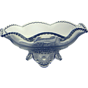 US Glass Company EAPG Colorado Whimsey Bowl, c. 1898