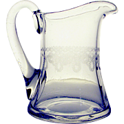 Vintage Bryce Cream / Milk Pitcher, c. 1910-1920