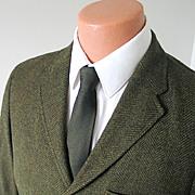 Vintage 1960s Fieldshire Menswear Jacket Sport Coat Sportcoat