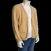 Vintage 1960s McGregor Royal Clan Cardigan Sweater L XL