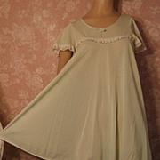 SALE PENDING Vintage Nightgown Peignoir Robe Set Babydoll Mint Lorraine Dolly Tent Trapeze