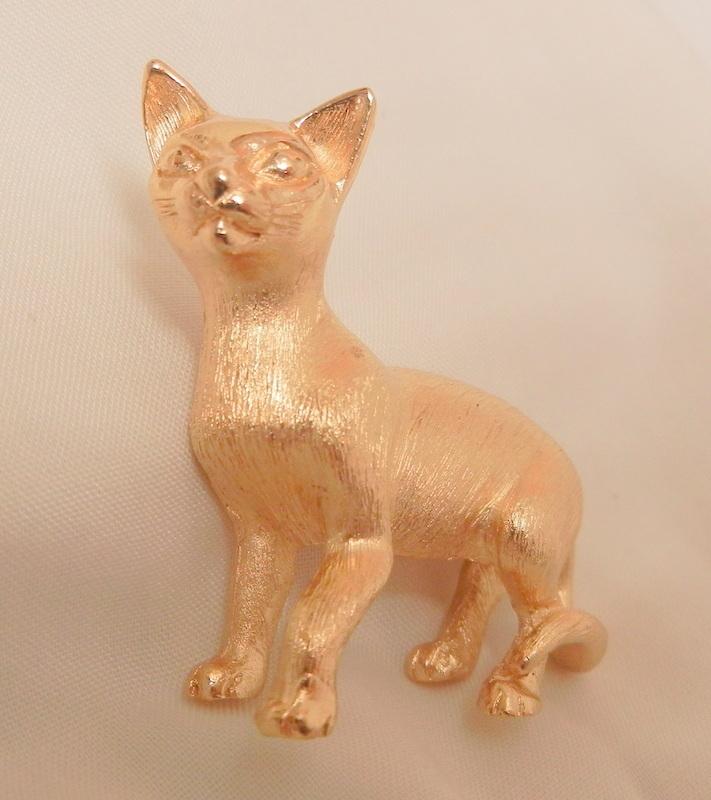 Trifari Tom Cat Brooch Mint condition