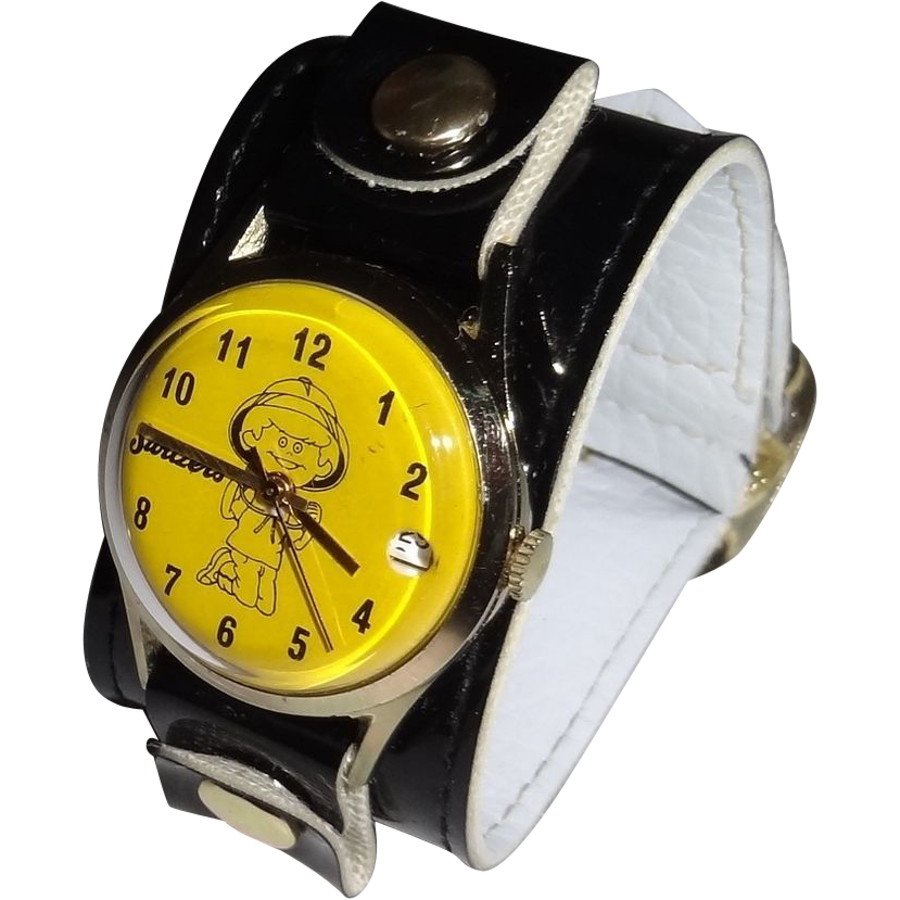Vintage Sixties Switzer's Watch with Original Package and Warranty