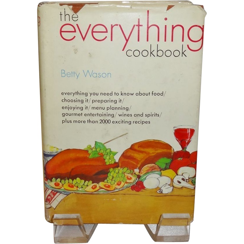 The Everything Cookbook by Betty Wason c. 1970