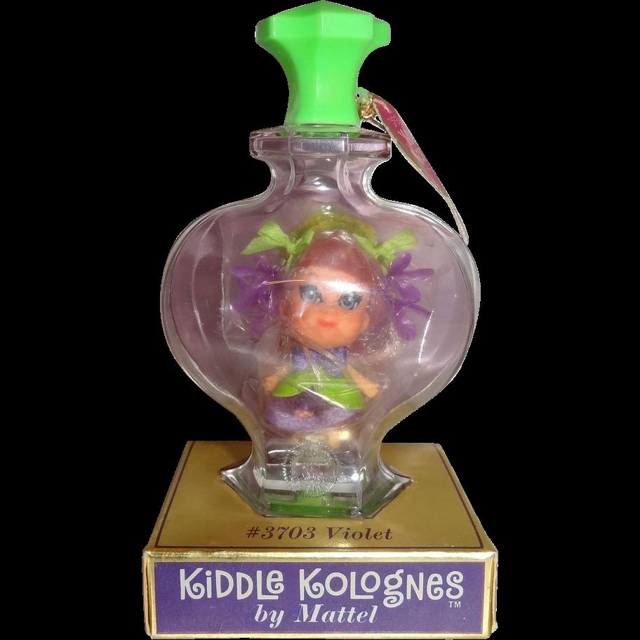 Vintage Violet Liddle Kiddle Kologne Near Mint