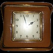 Vintage Travel Alarm Clock by Phinney Walker in Original Box