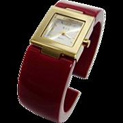 Vintage Kenneth Jay Lane Lucite Watch
