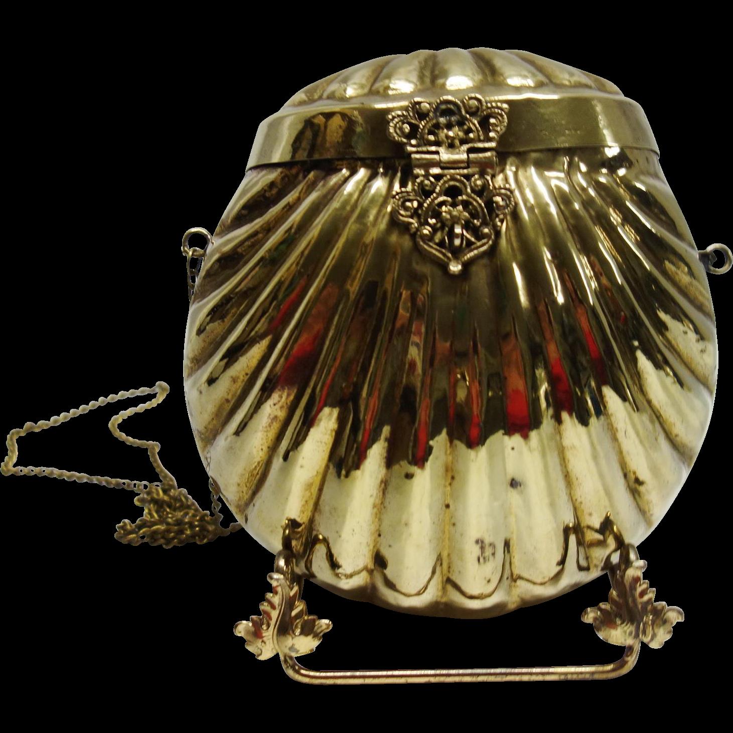 Vintage Brass Purse 50