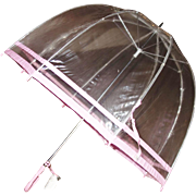 "Vintage Sixties ""Southern Belle"" Classic Bubble Umbrella Unused with Original Tag"