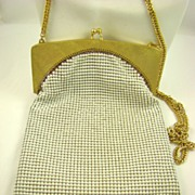 Whiting & Davis Art Deco Style Evening Bag