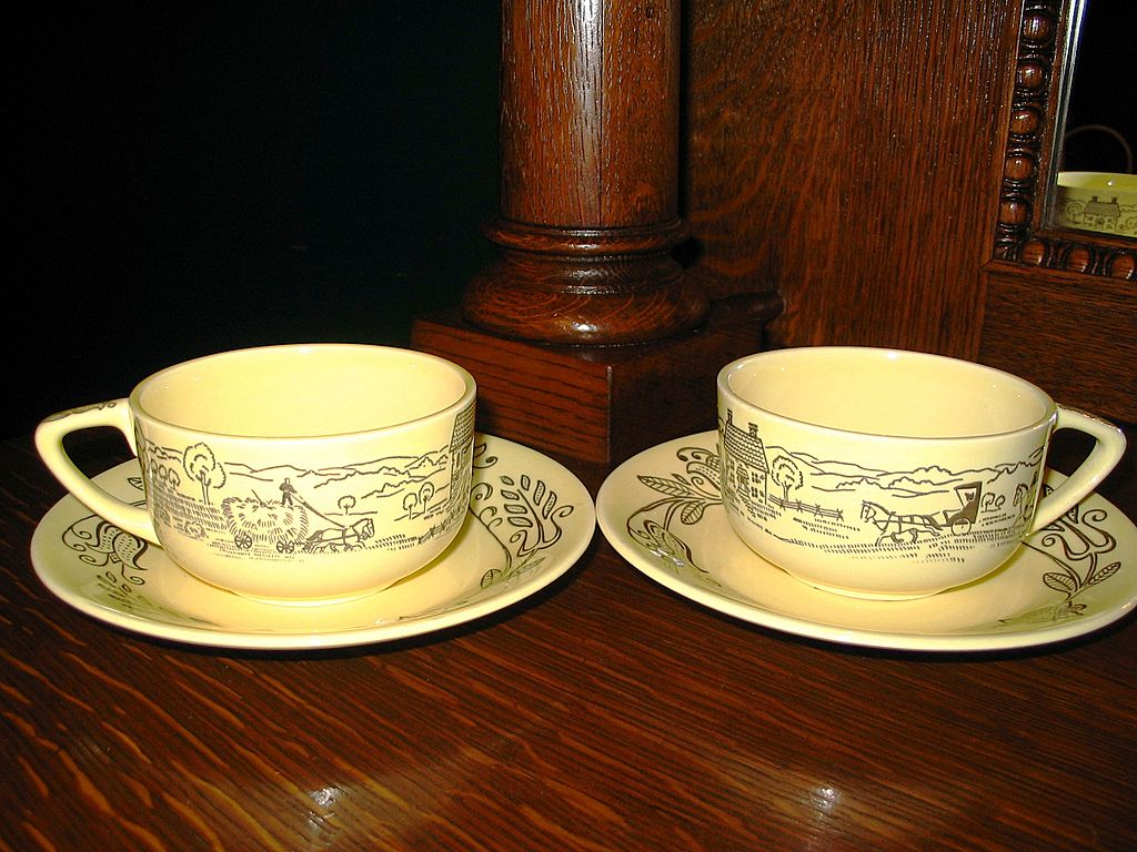 Buck's County Cups and Saucers