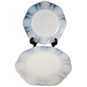 "Four McBeth Evans Monax American Sweetheart 8"" Plates"