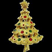 SALE Stunning Mylu Rhinestone Christmas Tree