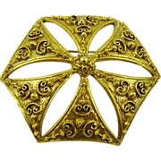SALE Benedikt NY Victorian Style Brooch/Pendant