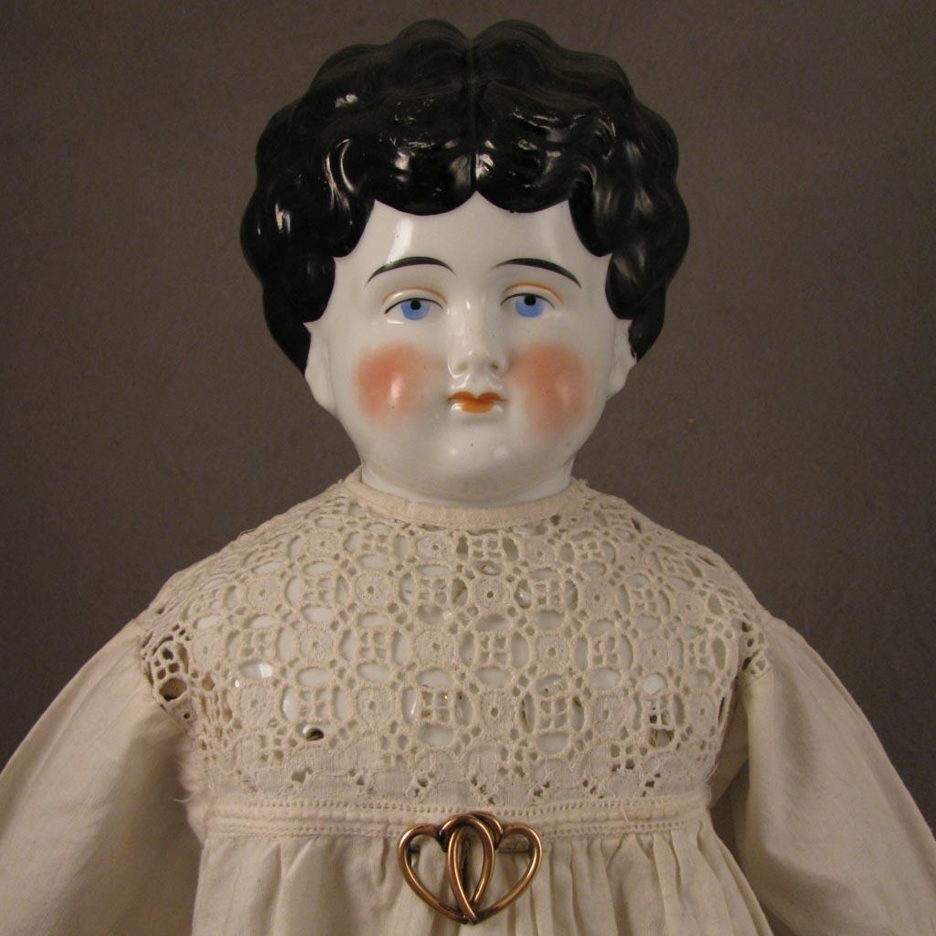 1899 1902 Pet Name China Head Doll Esther 21 From Virtu