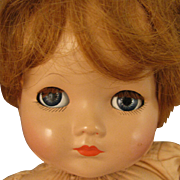 SALE 1939-49 Composition Effanbee Mickey Baby Doll 14""