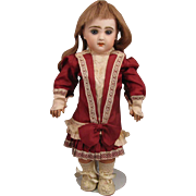 15 inch Jumeau no.5 French Bisque Bebe Doll w/ Open Cut Mouth