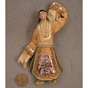 Early 1900s Miniature Chinese Opera Doll