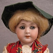 "SALE 8"" German Simon & Halbig Bisque Doll in Regional Costume"