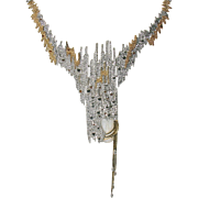 "SALE VALENTINES SALE! ""Sophistication"" Necklace/Brooch State1 by ERTE Dazzles with D"