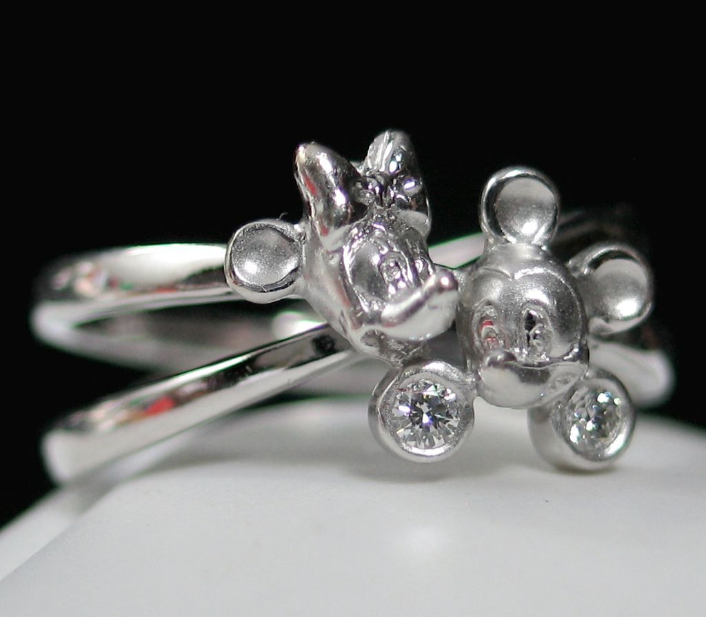 Mickey And Minnie Wedding Rings | Everything About Marriage