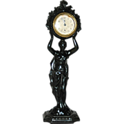 REDUCED American, Waterbury Clock Co.,Figural Novelty Clock