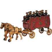 Kenton Overland Circus Band Wagon - Early Cast Iron Toy
