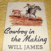 """Cowboy in the Making"" - First Edition, First Printing by Will Parks"