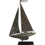 Early Sailboat Weathervane