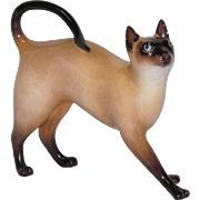 Royal Doulton Porcelain Siamese Cat