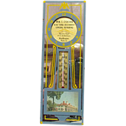 1940s Advertising Thermometer Farm Machinery Reisterstown Maryland
