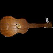 SOLD Vintage Hawaiian Kamaka Gold Label Soprano Ukulele 1954-1969 Koa Wood